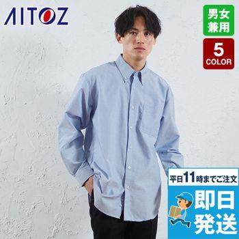 AZ-7822 アイトス/カナディアンクリーク 長袖T/Cオックスシャツ(男女兼用)