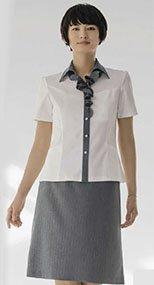 S-16421 16429 SELERY(セロリー) Aラインスカート ストライプ 99-S16421