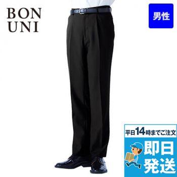 12113 BONUNI(ボストン商会) ワンタックスラックス(男性用)