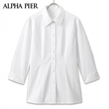 AR1588 アルファピア 七分袖シャツ 40-AR1588