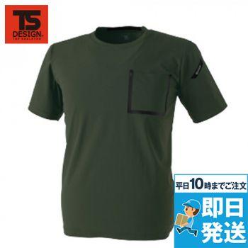 8355 TS DESIGN TS DELTA ワークTシャツ