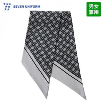 JY4733 セブンユニフォーム スカーフ(男女兼用) チェック柄