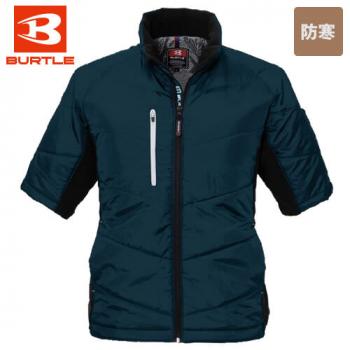 バートル 7316 PUコーティング半袖防寒ブルゾン(男女兼用)