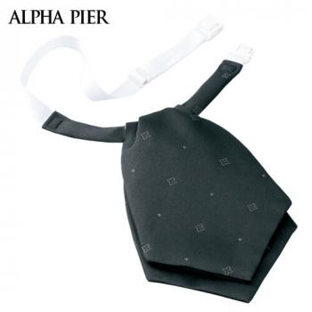 R913 アルファピア リボン(小紋柄のジャカード/ブラック)