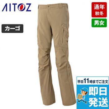 AZ7843 アイトス アジト ストレッチパンツ(男女兼用) 総ゴム ノータック 秋冬・通年