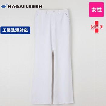 CD2818 ナガイレーベン(nagaileben) キャリアル 女子ブーツカットパンツ