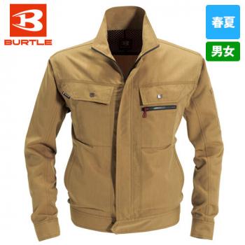 バートル 8061 [春夏用]ヴィンテージライトチノ長袖ジャケット(男女兼用)