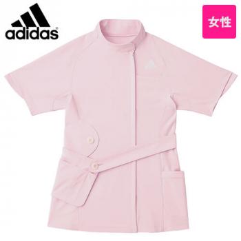SMS007-10 13 17 18 アディダス ナースジャケット(女性用) 取り外し可能な大型ポシェット付