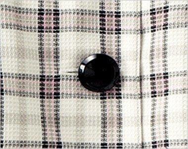 光沢のある黒いボタン