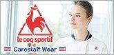 フランスのスポーツブランドlqcoq(ルコック)の医療白衣