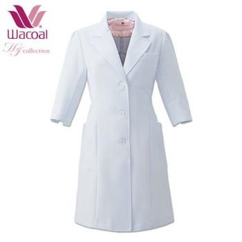 女性らしい白衣