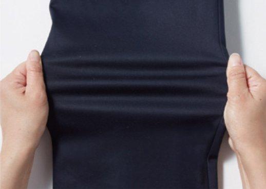 自重堂Jawin52500のストレッチ作業服の伸縮性