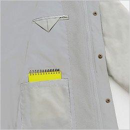 左胸 インナー内ポケット