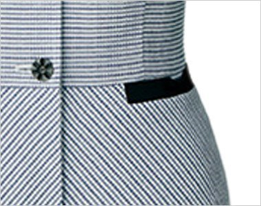 左リボン型ポケット