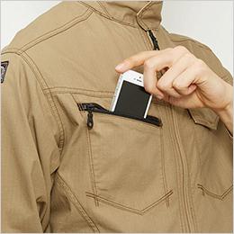 右胸 Phone収納ポケット