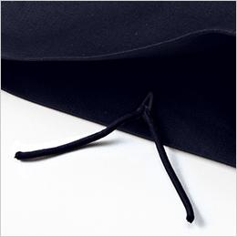 裾紐通し穴