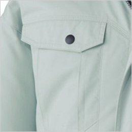 右胸 フラップポケット