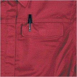 ペン差付きフラップポケット
