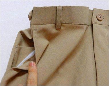 両脇ポケット付き(右脇ポケットは中ポケット付き)