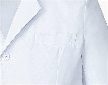 左胸ポケット付き
