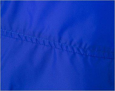 アクセントとなるポケット上の縫製