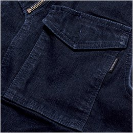 胸フラップポケット