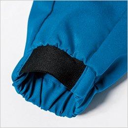 袖口 ジャガードゴム仕様で袖まくりもらくらく