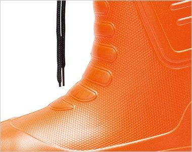 外気の影響を受けにくく耐寒性に優れた超軽量EVA素材