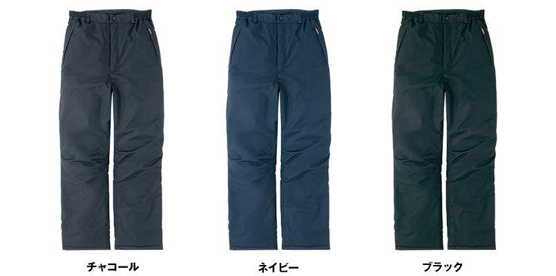 AZ8472 アイトス タルテックス 業務用 防風防寒ズボン(パンツ) 色展開