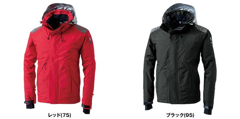 18246 TS DESIGN メガヒートES防水防寒ジャケット(男女兼用) 色展開