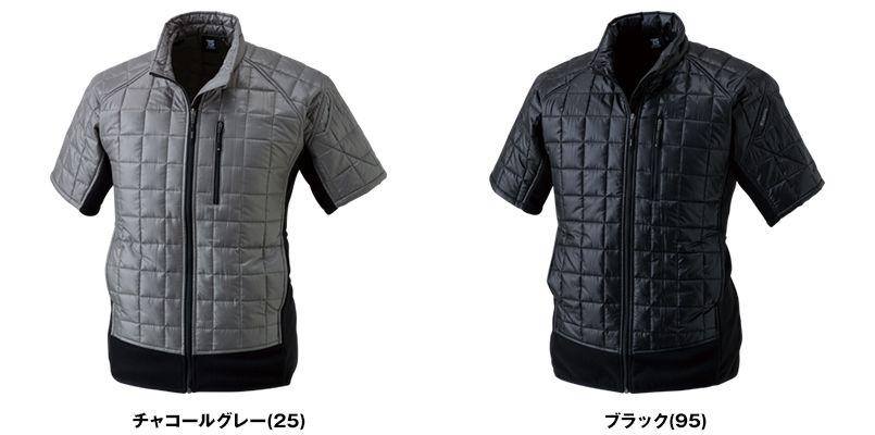 42256 TS DESIGN マイクロリップショートスリーブジャケット(男女兼用) 色展開