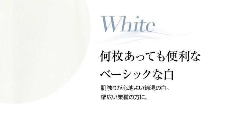 en joie(アンジョア) 0402 肌触りが心地よい綿混素材の長袖ブラウス カラーUP