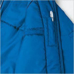 AZ2204 アイトス リフレクトジャケット(中綿)(男女兼用) ペン差しポケット&手帳などが収納できる縦型ポケット