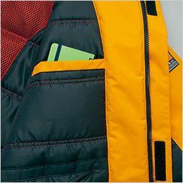 AZ6063 アイトス 極寒対応 光電子 防風防寒着コート ポケット