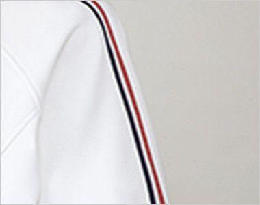 UZL1012 ルコック ジャージ ジャケット(女性用) 肩から袖にかけてのトリコロールテープがフレンチテイストを演出