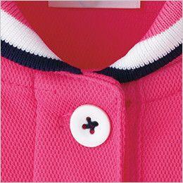 TB4002L ナチュラルスマイル ドライ チュニックポロシャツ (女性用) シリコン素材のボタン