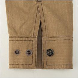 バートル 5101 [春夏用]リップクロスジャケット(綿100%)(男女兼用)  カフスアジャスター