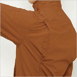 バートル 5511 [春夏用]綿100%リップクロスジャケット(男女兼用) 背アームノーフォーク