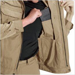 バートル 6091 ソフトツイルジャケット(男女兼用)  内ポケット