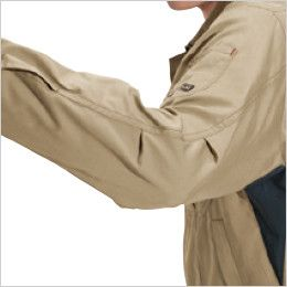 バートル 6091 ソフトツイルジャケット(男女兼用)  アームタック