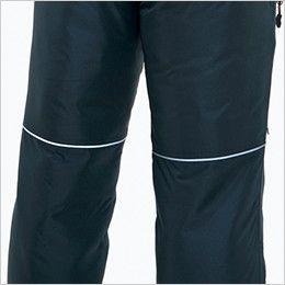 バートル 7212 サーモトロン防寒パンツ(男女兼用) リフレクターバイビングデザイン