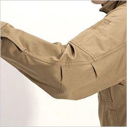 バートル 8031 チノクロスジャケット(綿100%)(男女兼用) アームタック