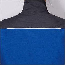 バートル 9081 [春夏用]ストレッチエアリークロス長袖ジャケット(男女兼用) (42.ロイヤルブルー、10.グリーンのみ)