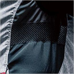 AC1024 バートル エアークラフト[空調服]迷彩ベスト(男女兼用) ポリ100% 脇通気メッシュ
