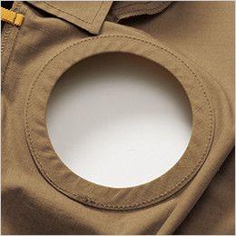 AC1131SET バートル エアークラフトセット[空調服]長袖ブルゾン(男女兼用) 綿100% 背中ファン取付口