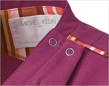 MK-0002 ミッシェルクラン(MICHEL KLEIN) ファスナースクラブ(女性用) ドットボタンで着脱がらくらくです。