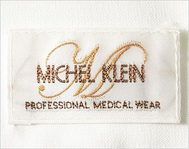 MK-0023 ミッシェルクラン(MICHEL KLEIN) チュニック(女性用) オフホワイトとクリームは白、ブラックは黒のオリジナルネーム付
