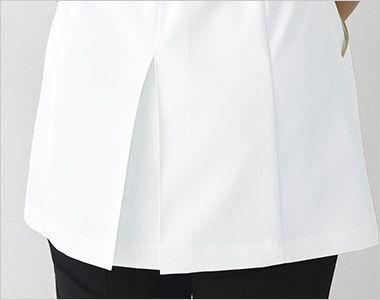 MK-0023 ミッシェルクラン(MICHEL KLEIN) チュニック(女性用) 動きやすい裾ボックスプリーツ仕様