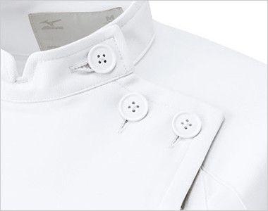 MZ-0048 ミズノ(mizuno) レディースジャケット(女性用) 3つボタンとフロントファスナー