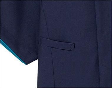 7028SC FOLK(フォーク) メンズ ジップスクラブ(男性用)  機能的なPHSポケット